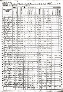 BULL, Jeremiah NYSA-An 1860 Non-Pop Agric Census Conklin, Broome, NY 31520_B00466438B-00269_2