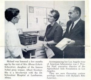 Laurence, Rita Mary Hyland Lab Schweitzer img084