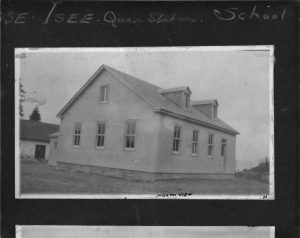 Schoolhouse in Grosee-Ile, Quebec. Credit: Dept. of Public Works / Library and Archives Canada