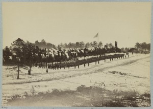 Camp of 2nd Maine Infantry, Camp Jameson (1861-1865). Photo: Library of Congress