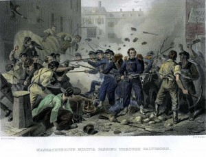 http://commons.wikimedia.org/wiki/File:Baltimore_Riot_1861.jpg#file