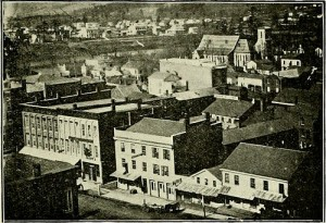 Binghamton, N.Y. (1800-1900). My ancestor Arthur Bull and his family appear to have made one more stopover in Binghamton, Broome County, N.Y. -- on the state's Southern Tier -- before moving on to New York's Adirondack foothills. By: Internet Archive Book Images